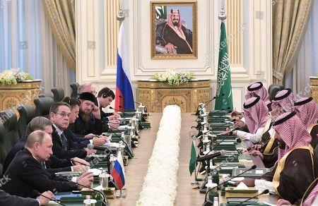 Editorial picture of Russian President Vladimir Putin pays a state visit to Saudi Arabia, Riyadh - 14 Oct 2019