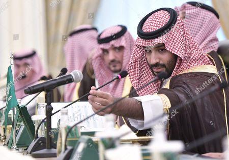 Editorial image of Russian President Vladimir Putin pays a state visit to Saudi Arabia, Riyadh - 14 Oct 2019