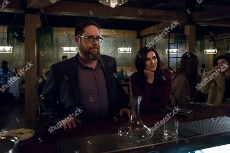 Zak Orth as Drew Meyers and Michaela Watkins as Valerie Meyers