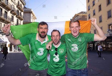 Oscar O'Donnell, John Mitchell and Sean O'Shea from Dublin