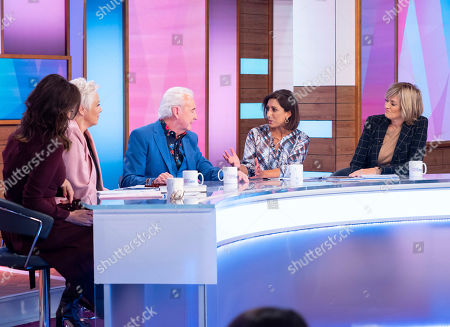 Editorial photo of 'Loose Women' TV show, London, UK - 14 Oct 2019