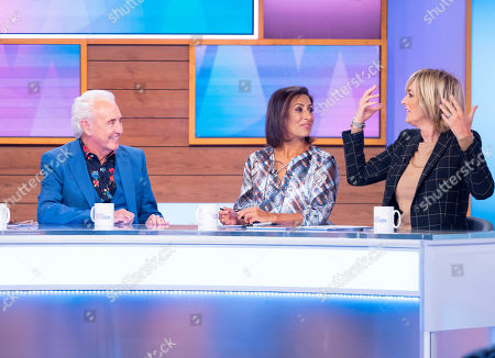 Tony Christie, Saira Khan and Jane Moore