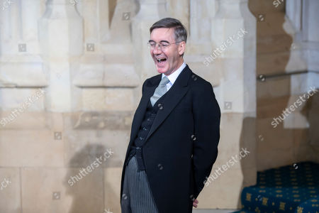 Stock Photo of Leader of The House Jacob Rees-Mogg
