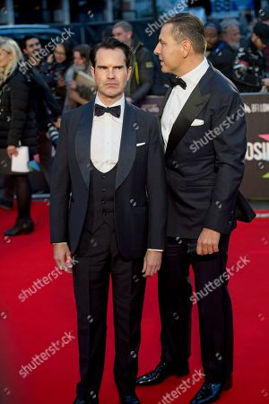 Stock Photo of Jimmy Carr and David Walliams