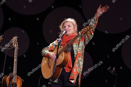 Editorial picture of Diane Tell in concert, Paris, France - 13 Oct 2019