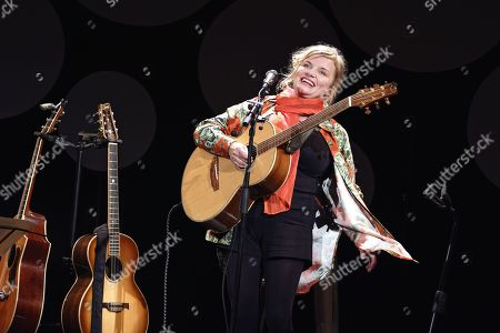 Editorial photo of Diane Tell in concert, Paris, France - 13 Oct 2019