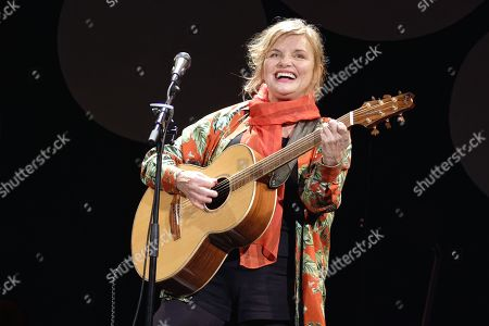 Editorial image of Diane Tell in concert, Paris, France - 13 Oct 2019
