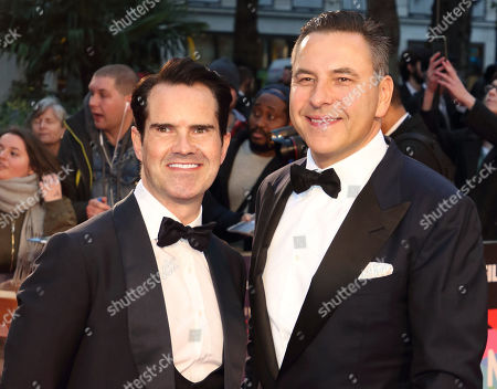 Stock Image of Jimmy Carr and David Walliams