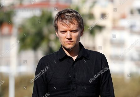 Marc Warren poses during a photocall for the TV series 'Van Der Valk' at the annual MIPCOM television content market in Canneâ??s, France, 14 October 2019. The media event runs from 14 to 17 October.