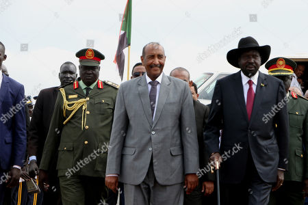 Editorial image of Juba hosts peace talks between Sudanese government and rebels, South Sudan - 14 Oct 2019