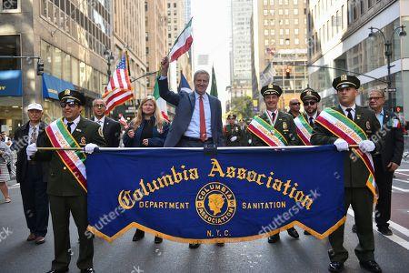 Editorial image of Columbus Day parade, New York, USA - 14 Oct 2019