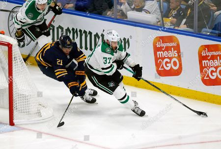Editorial picture of Stars Sabres Hockey, Buffalo, USA - 14 Oct 2019
