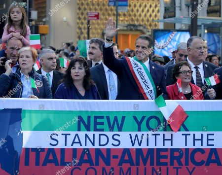 Editorial photo of Columbus Day Parade-NYC, New York, USA - 14 Oct 2019