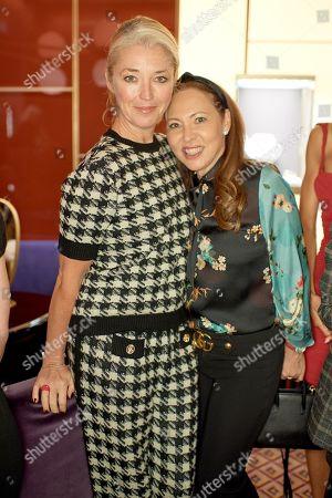 Tamara Beckwith Veroni and Warly Tomei