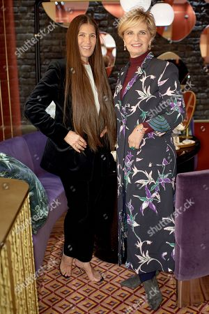 Elizabeth Saltzman and Sabina Belli