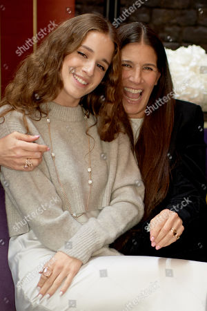 Stock Picture of Coco Konig and Elizabeth Saltzman