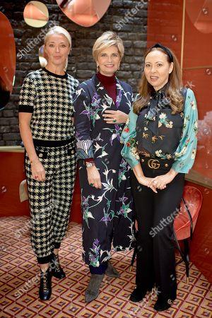 Stock Image of Tamara Beckwith Veroni, Sabina Belli and Warly Tomei