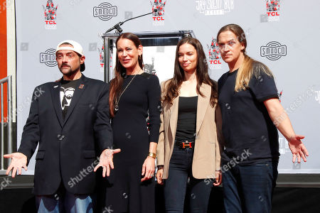 Editorial photo of Kevin Smith and Jason Mewes handprints ceremony, Los Angeles, USA - 14 Oct 2019