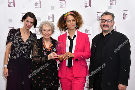 Editorial image of Booker Prize winners photocall, London, UK - 14 Oct 2019