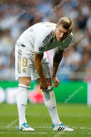 Stock Photo of Toni Kroos of Real Madrid