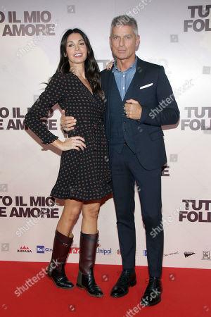 Editorial photo of 'Tutto Il Mio Folle Amore' film premiere, Arrivals, Palazzo Grazioli, Milan, Italy - 14 Oct 2019