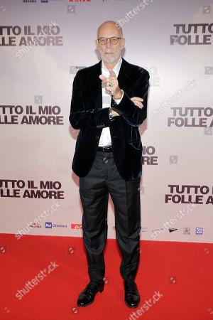 Editorial picture of 'Tutto Il Mio Folle Amore' film premiere, Arrivals, Palazzo Grazioli, Milan, Italy - 14 Oct 2019