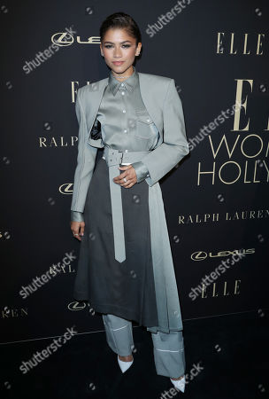 Editorial photo of Elle Women in Hollywood, Arrivals, Four Seasons Hotel, Los Angeles, USA - 14 Oct 2019