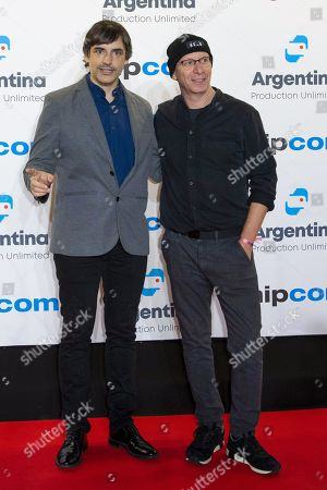 Stock Picture of Jorge Dorado and Ran Tellm