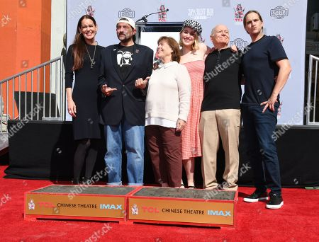 Jennifer Schwalbach Smith, Kevin Smith and Harley Quinn Smith