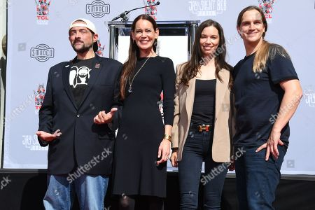 Editorial image of Kevin Smith and Jason Mewes honored with Hand and Footprint Ceremony, Los Angeles, USA - 14 Oct 2019
