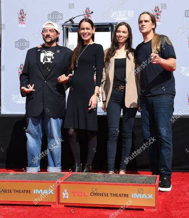 Editorial picture of Kevin Smith and Jason Mewes honored with Hand and Footprint Ceremony, Los Angeles, USA - 14 Oct 2019