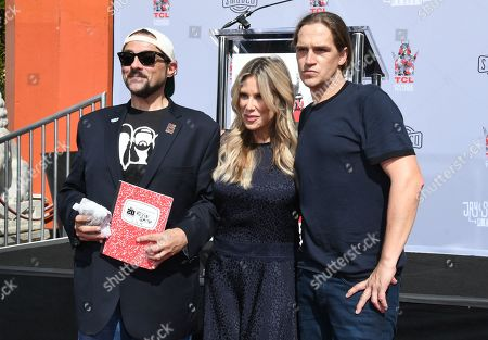 Kevin Smith, Ellen K. and Jason Mewes