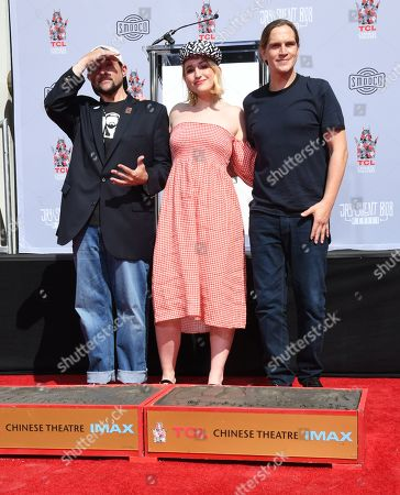 Kevin Smith, Harley Quinn Smith and Jason Mewes