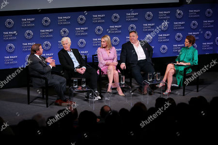 Stock Image of Dennis Murphy, Keith Morrison, Andrea Canning, Josh Mankiewicz, Stephanie Ruhle