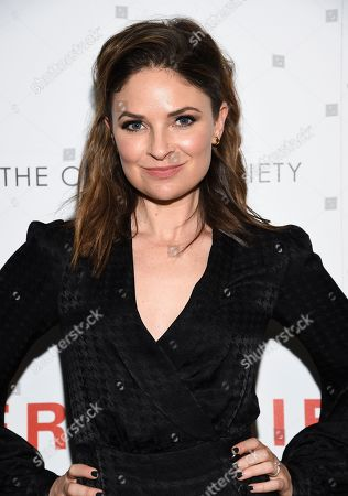"""Stock Image of MacKenzie Meehan attends a special screening of Sony Pictures Classics' """"Frankie"""", hosted by The Cinema Society, at Metrograph, in New York"""