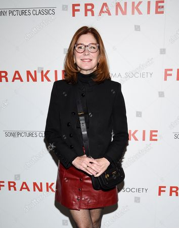 "Dana Delany attends a special screening of Sony Pictures Classics' ""Frankie"", hosted by The Cinema Society, at Metrograph, in New York"