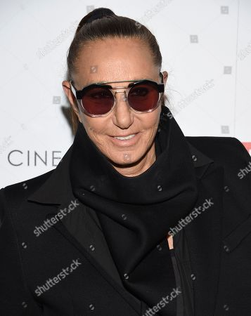 """Donna Karan attends a special screening of Sony Pictures Classics' """"Frankie"""", hosted by The Cinema Society, at Metrograph, in New York"""