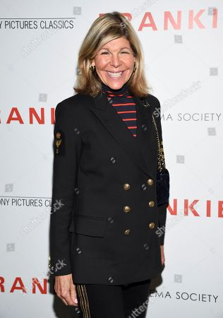 """Jamee Gregory attends a special screening of Sony Pictures Classics' """"Frankie"""", hosted by The Cinema Society, at Metrograph, in New York"""