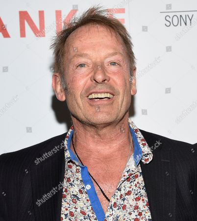 """Drummer Simon Kirke attends a special screening of Sony Pictures Classics' """"Frankie"""", hosted by The Cinema Society, at Metrograph, in New York"""
