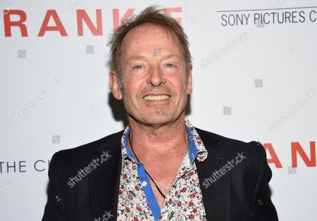 """Stock Picture of Drummer Simon Kirke attends a special screening of Sony Pictures Classics' """"Frankie"""", hosted by The Cinema Society, at Metrograph, in New York"""