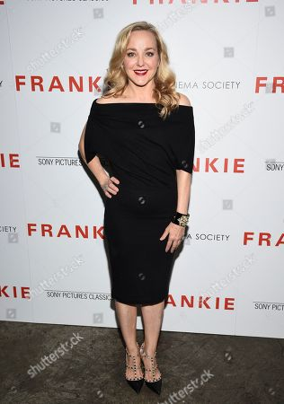 """Geneva Carr attends a special screening of Sony Pictures Classics' """"Frankie"""", hosted by The Cinema Society, at Metrograph, in New York"""