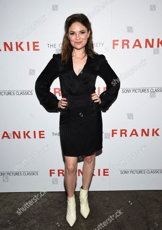 """MacKenzie Meehan attends a special screening of Sony Pictures Classics' """"Frankie"""", hosted by The Cinema Society, at Metrograph, in New York"""
