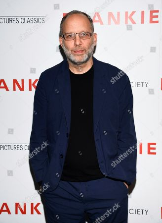 "Ira Sachs attends a special screening of Sony Pictures Classics' ""Frankie,"" hosted by The Cinema Society, at Metrograph, in New York"