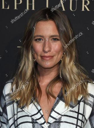 Renee Bargh arrives at the 26th annual ELLE Women in Hollywood Celebration at the Four Seasons Hotel, in Los Angeles