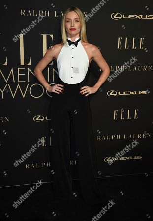 Annabelle Wallis arrives at the 26th annual ELLE Women in Hollywood Celebration at the Four Seasons Hotel, in Los Angeles
