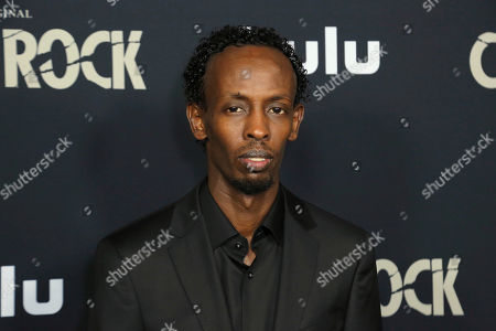 "Barkhad Abdi attends the LA Premiere of Hulu's ""Castle Rock"" Season 2, in West Hollywood, Calif"