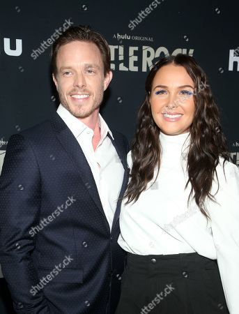 Matthew Alan and Camilla Luddington