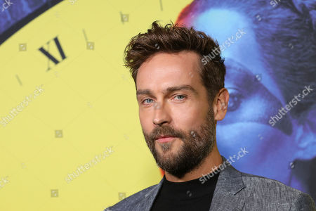 """Tom Mison attends the """"Watchmen,"""" premiere at the Cinerama Dome, in Los Angeles"""