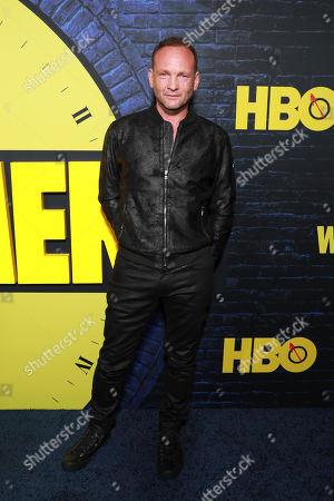 "Andrew Howard attends the ""Watchmen,"" premiere at the Cinerama Dome, in Los Angeles"