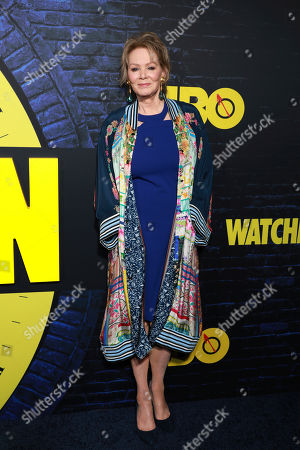 "Jean Smart attends the ""Watchmen,"" premiere at the Cinerama Dome, in Los Angeles"